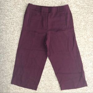 { LOFT } Cranberry Wine Pants